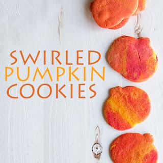 Swirled Pumpkin Cookies