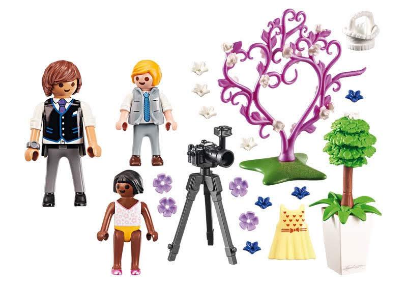 Contenido real de Playmobil® 9230 Niños y Fotógrafo