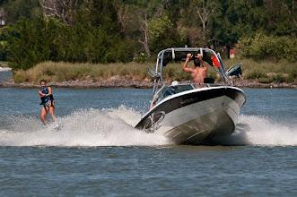 Photo: Water skiing is popular on Sloan's Lake