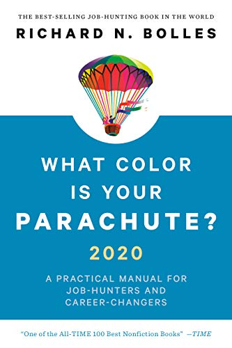Book cover, What Color Is Your Parachute