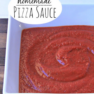 The Best Homemade Pizza Sauce.