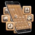 Wood Grain Tree Mobile Themes icon