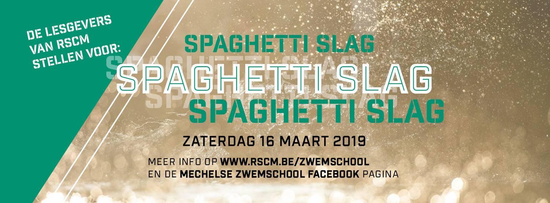 Mechelse Zwemschool: Spaghettislag voor en door de lesgevers!