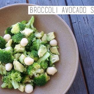 Broccoli Avocado Salad.