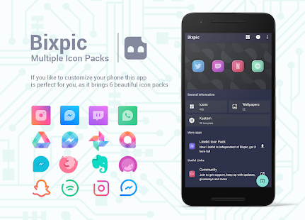 Bixpic Icons (Only for customizers) Screenshot