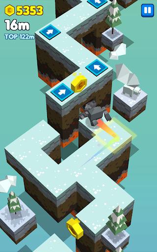 Cubie Jump - Tap Dash apktram screenshots 7