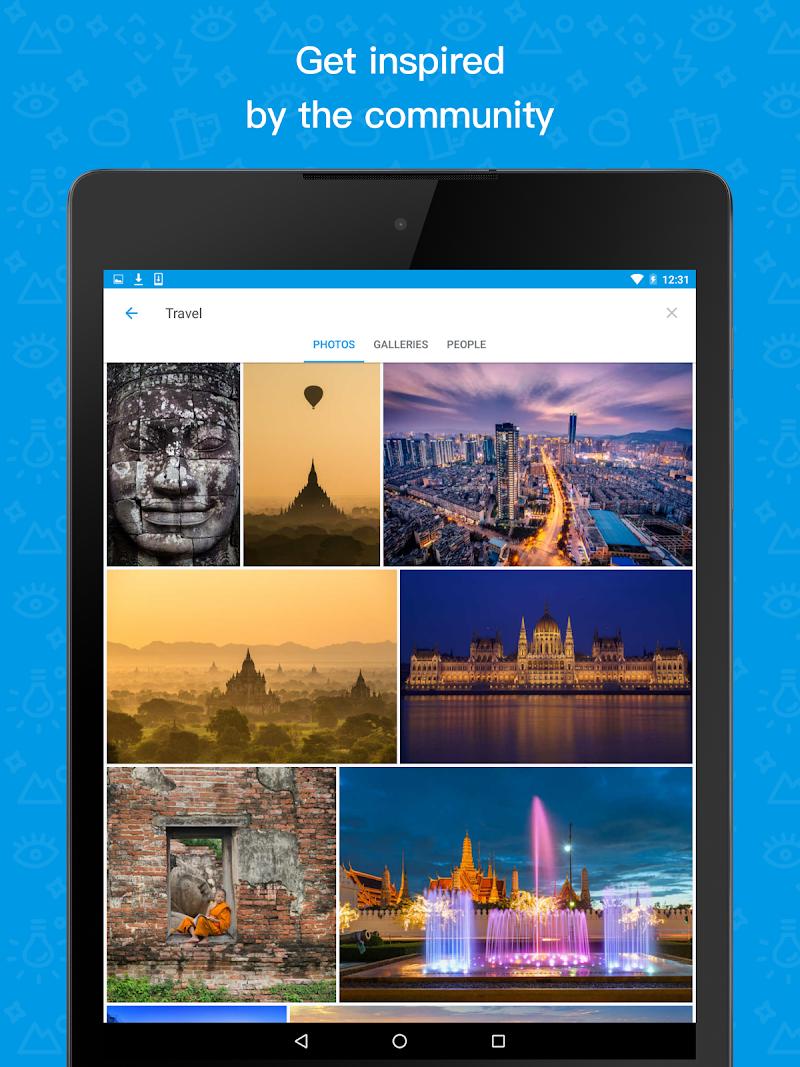 500px – Discover great photos Screenshot 5
