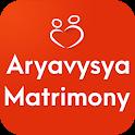Aryavysya Matrimony - Marriage and Wedding App icon