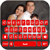 My family photo key board