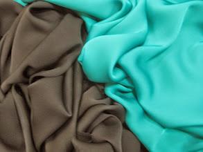 Photo: Ткань :Шармюз натуральный шелк ш.140см.цена 3300руб.