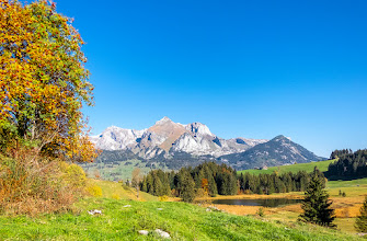 Photo: Alpstein und Schwendisee, Schweiz