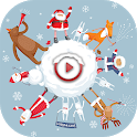Christmas Video Maker with Music - Movie Maker icon