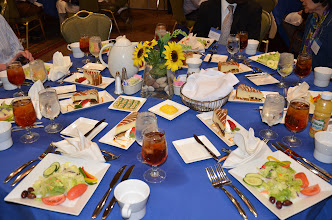 Photo: The Awards Luncheon Spread
