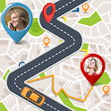 GPS Route Finder: Maps, Navigation, Directions icon