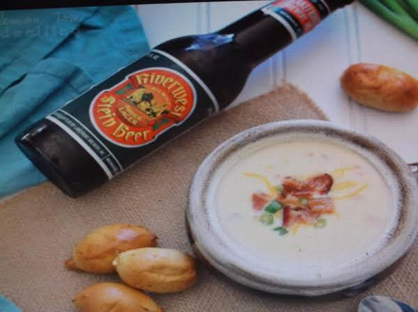 Beer And Chedder Cheese Soup