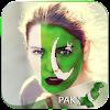 Pakistan Flag Face Paint-Flag Face-PicArt Editor APK