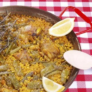Paella Con Conejo (Rabbit Paella)