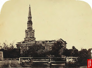 Photo: St Andrews church Egmore Madras-1821-St Andrew's Kirk, Egmore, is consecrated. The 170-feet spire of this church surmounts a circular nave and a dome that rests on 16 ionic pillars.