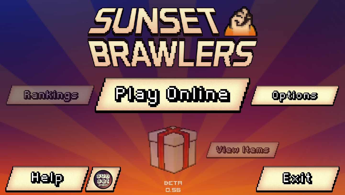 Sunset Brawlers - DEMO- screenshot