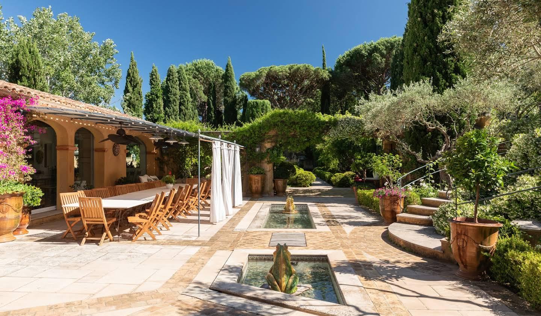 Propriété avec piscine et jardin Ramatuelle