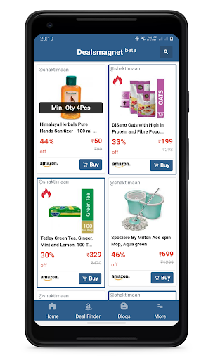 Dealsmagnet - Offers & Coupons for Online Shopping screenshots 2