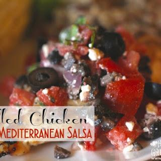 Grilled Chicken With Mediterranean Salsa