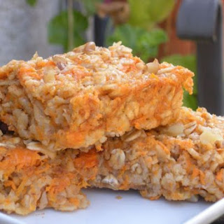 Sweet Potato Bars.