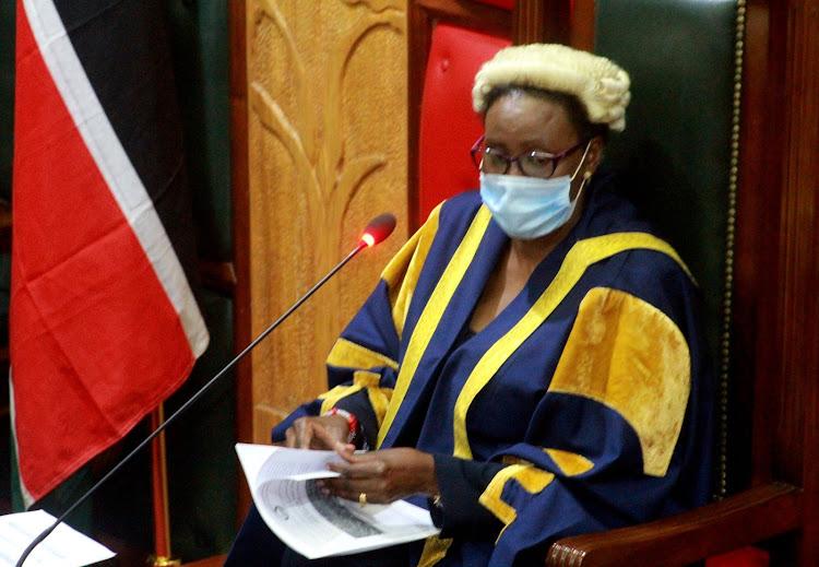 Embattled Nairobi County Assembly Speaker Beatrice Elachi