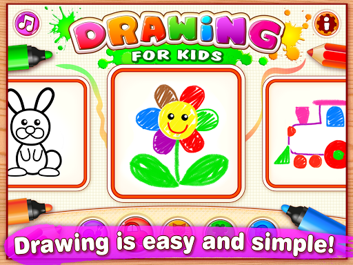 Drawing for Kids Learning Games for Toddlers age 3  6