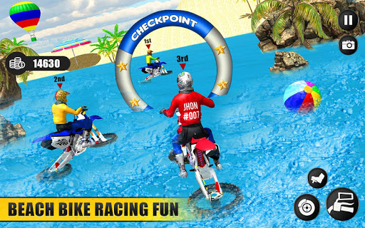 Beach Water Surfer Dirt Bike: Xtreme Racing Games apkdebit screenshots 9