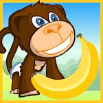 Baby Monkey Banana Hunt Icon