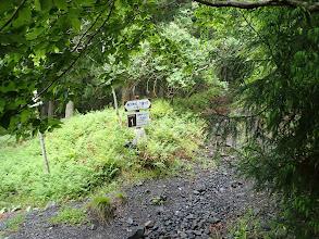 井戸谷コース入口