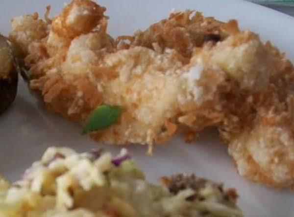 Coconut Chicken Fingers Done My Way! Recipe