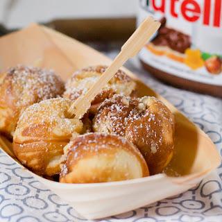 Nutella-Filled Pancake Pops