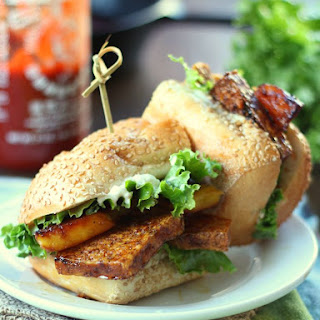 Pineapple Teriyaki Tofu Sandwiches Recipe