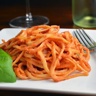 Pasta al Pomodoro e Formaggio.