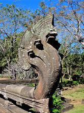 Photo: naga on the naga bridge leading to the Phanom Rung sanctuary