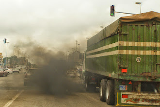 Photo: Too much pollution in Yamoussoukro