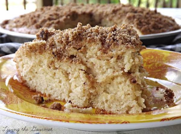 Double Layer Crumb Cake Recipe