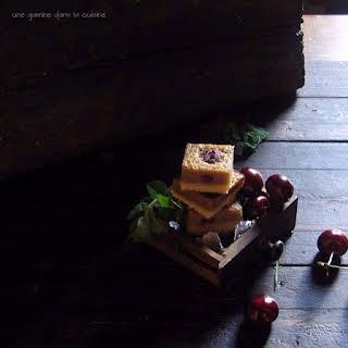 Brown Butter Cherry Basil Bars.