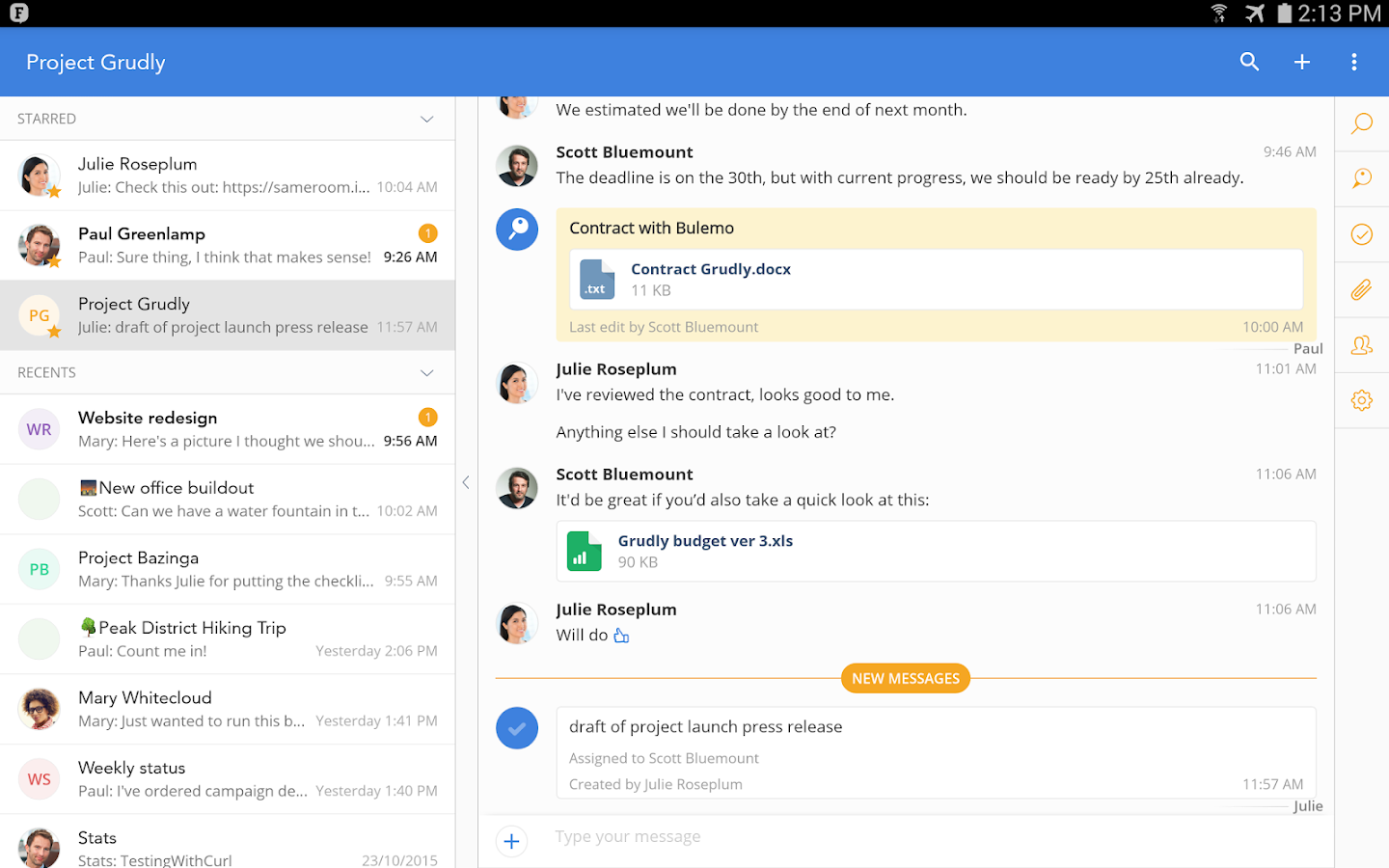Fleep - Free Team Messenger- screenshot
