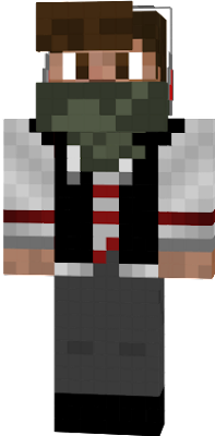 I did not like the pink-white striped tanktop under the black jacket. I thaught, that it would be the colour ruby-red, but it was'nt. so I now changed the color to more realy red. So this is BananaTechYT 3.0.