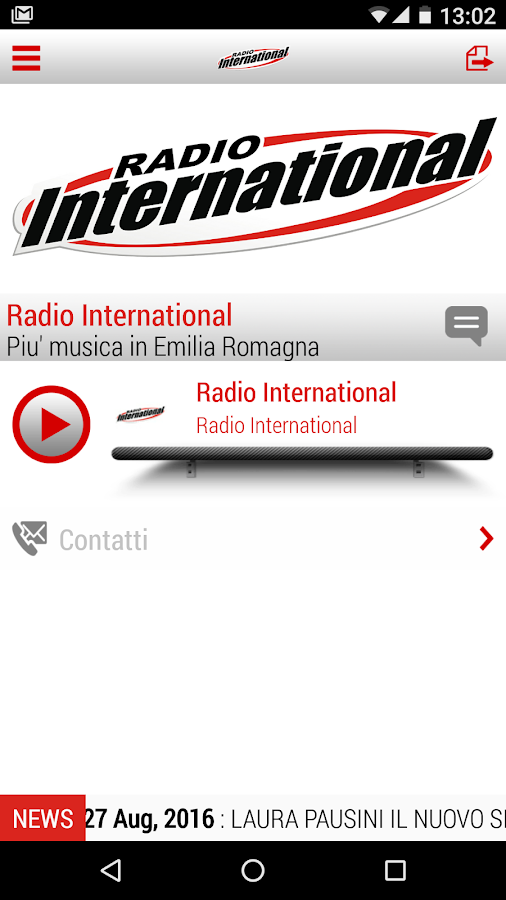 Radio International- screenshot