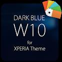 Dark Blue W10 for XPERIA Theme icon
