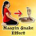 Snake Video : Naagin Effect Video Maker icon