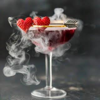 Love Potion #9 Martini (Triple Berry Martini).