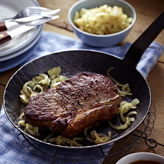 Steak with Whiskey Sauce