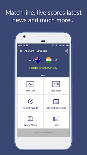 Cricket Line Guru : Fast Live Line for PC