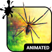 Spider Animated Keyboard + Live Wallpaper