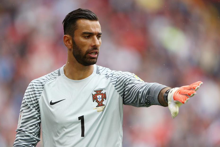 Rui Patricio representing Portugal